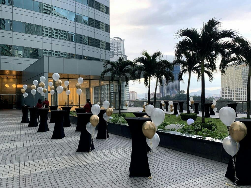 rooftop event space kl